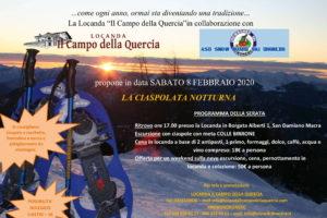 Ciaspolata Notturna – 8 Febbraio 2020